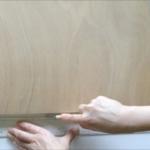 水張り木製パネル 手順1