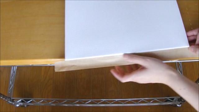 水張り木製パネル 手順14