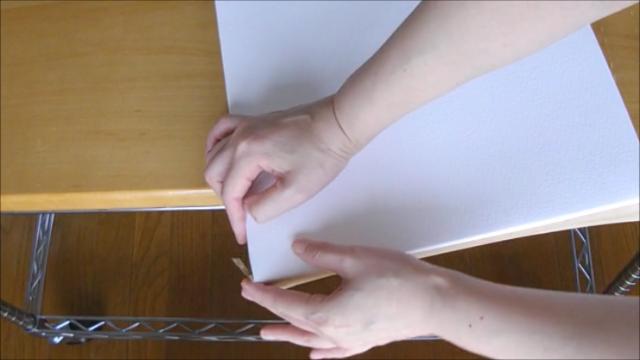 水張り木製パネル 手順16