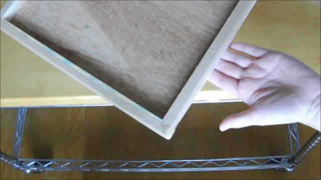 水張り木製パネル 手順19