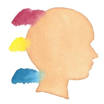 肌の混色例1