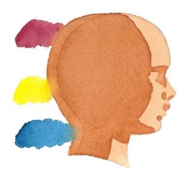 肌の陰色例1